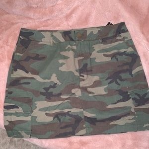 Camo Plus Size Skirt